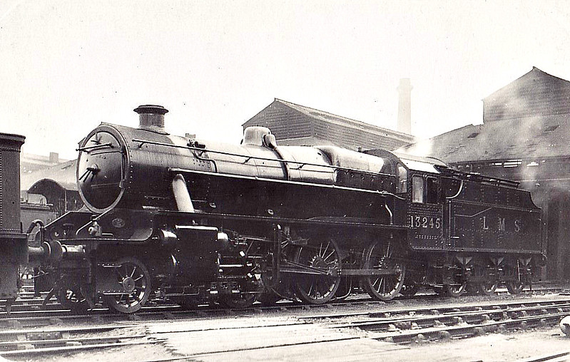 LMS - 13245 - Stanier LMS Class 6P5F 2-6-0 - built 10/33 by Crewe Works - 12/34 to LMS No.2935, 09/49 to BR No.42945 - 03/66 withdrawn from 9F Heaton Mersey.