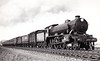 Class B17 - 2804 ELVEDEN - Gresley LNER 4-6-0 - built 12/28 by North British Loco Co. - 03/46 to LNER No.1604, 06/48 to BR No.616o4 - 08/53 withdrawn from 30A Stratford - note banker.