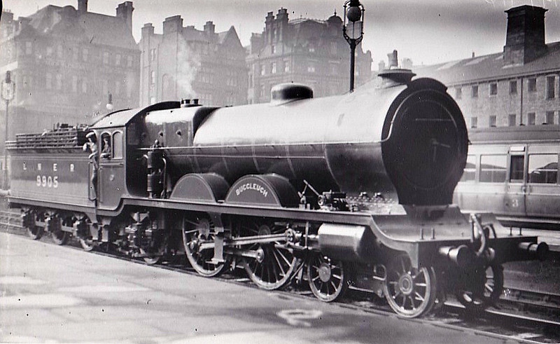 Class C11 - 9905 BUCCLEUCH - Reid NBR Class H LNER Class C10 4-4-2 - built 08/11 by Robert Stephenson & Co. as NBR No.905 - 05/24 rebuilt from Class C10 and to LNER No.9905 - 09/37 withdrawn from Carlisle Canal.