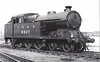 Class A5 - 9807 - Robinson GCR Class 9N 4-6-2T - built 07/11 by Gorton Works as GCR No.24 - 06/25 to LNER No.5024, 08/46 to LNER No.9807, 05/49 to BR No.69807 - 07/58 withdrawn from 38A Colwick - seen here at Neasden, 04/48.