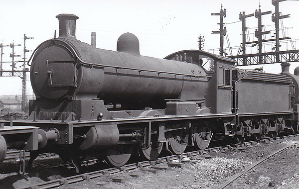 Class Q5 - 1729 - Worsdell NER Class T 0-8-0 - built 06/02 by Gateshead Works - 04/46 to LNER No.3269 - BR No.63269 not applied - 07/47 withdrawn from 51D Middlesbrough, where seen in May 1939.