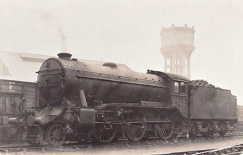 Class K3 - 2762 - Gresley GNR/LNER 2-6-0 - built 07/30 by Darlington Works - 11/46 to LNER No.1891, 10/49 to BR No.61891 - 09/61 withdrawn from 40A Lincoln - seen here at Goole in 1930.