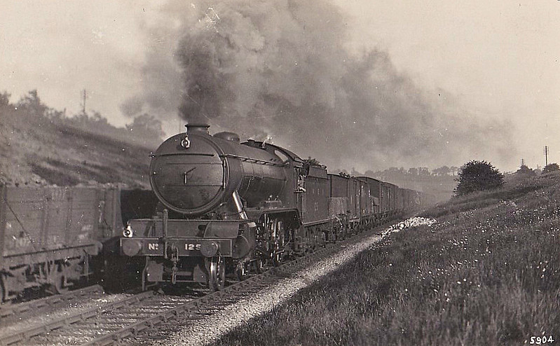Class K3 - 125 - Gresley GNR/LNER 2-6-0 - built 01/25 by Darlington Works - 05/46 to LNER No.1836, 09/48 to BR No.61836 - 02/60 withdrawn from 36A Doncaster.