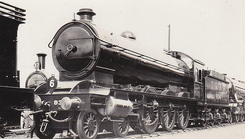 Class B16 - 934 - Raven NER/LNER Class S3 4-6-0 - built 06/04 by Gateshead Works - 12/46 to LNER No.1429, 05/51 to BR No.61429 - 09/61 withdrawn from 50B Leeds Neville Hill - seen here at Faverdale, 07/25, Exhibit No.6 in the S&DR Centenary Parade.
