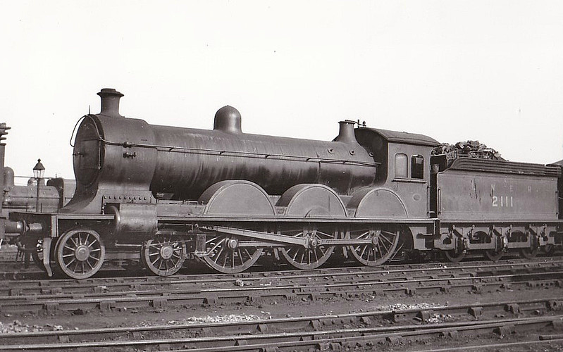 Class B14 - 2111 - Worsdell NER Class S1 4-6-0 - built 12/00 by Gateshead Works - 07/29 withdrawn from Hull Dairycoates MPD.