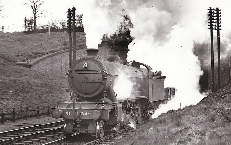 Class O2 - 3491 - Gresley GNR/LNER 2-8-0 - built 12/23 by Doncaster Works - 10/46 to LNER No.3936, 05/49 to BR No.63936 - 09/63 withdrawn from 36E Retford.