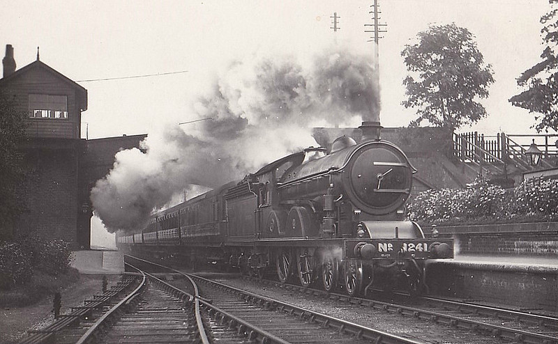 Class D21 - 1241 -  Worsdell NER Class R1 4-4-0 - built 06/09 by Darlington Works - 03/43 withdrawn from Starbeck MPD.