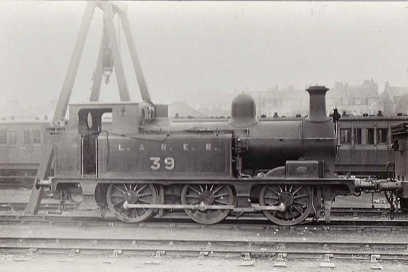 Class J90 - Manson GNSR Class D 0-6-0T - built 05/00 by Kitson & Co. as GNSR No.39 - 1924 to LNER No.6839 - 05/34 withdrawn from Kittybrewster.