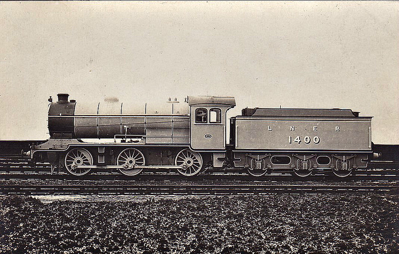 Class J38 - 1400 - Gresley LNER 0-6-0 - built 01/26 by Darlington Works - 09/46 to LNER No.5900, 10/49 to BR No.65900 - 11/63 withdrawn from 62A Thornton Junction.