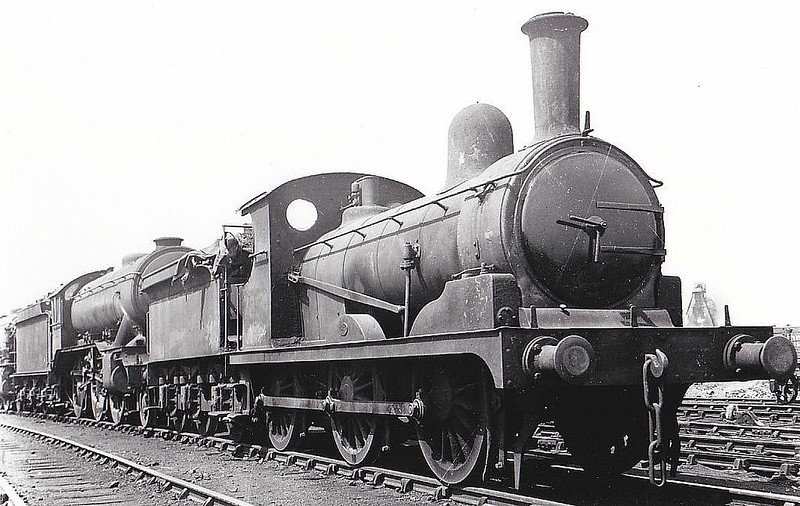 Class J15 - 7854 - Holden GER Class Y14 0-6-0 - built 10/1889 by Stratford Works as GER No.854 - 1924 to LNER No.7854, 11/46 to LNER No.5372, 05/49 to BR No.65372 - 09/49 withdrawn from 31B March - seen here at March.