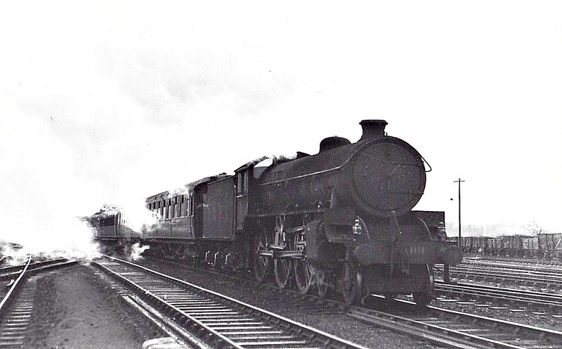 Class B 1 - 1111 - Thompson LNER/BR 4-6-0 - built 12/46 by North British Loco Co. - 06/48 to BR No.61111 - 09/62 withdrawn from 41A Sheffield Darnall.
