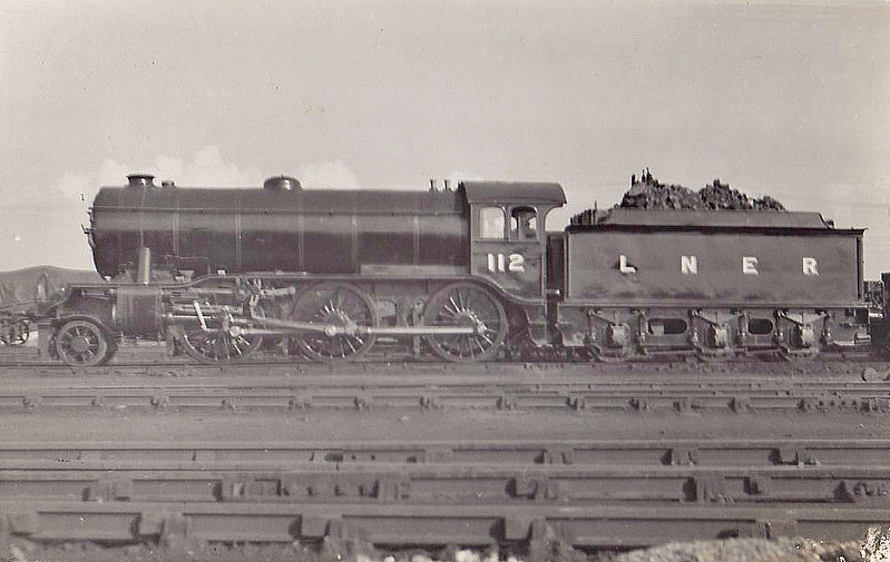 Class K3 - 112 - Gresley GNR/LNER 2-6-0 - built 12/24 by Darlington Works - 05/46 to LNER No.1829, 03/49 to BR No.61829 - 02/62 withdrawn from 36A Doncaster.