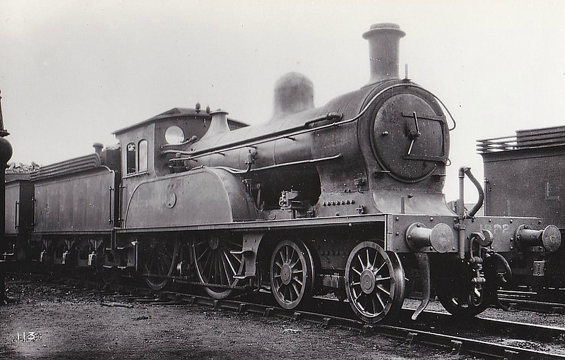 Class D17 - 1922 - Worsdell NER Class Q 4-4-0 - built 09/1897 by Gateshead Works - 10/32 withdrawn from West Hartlepool MPD.