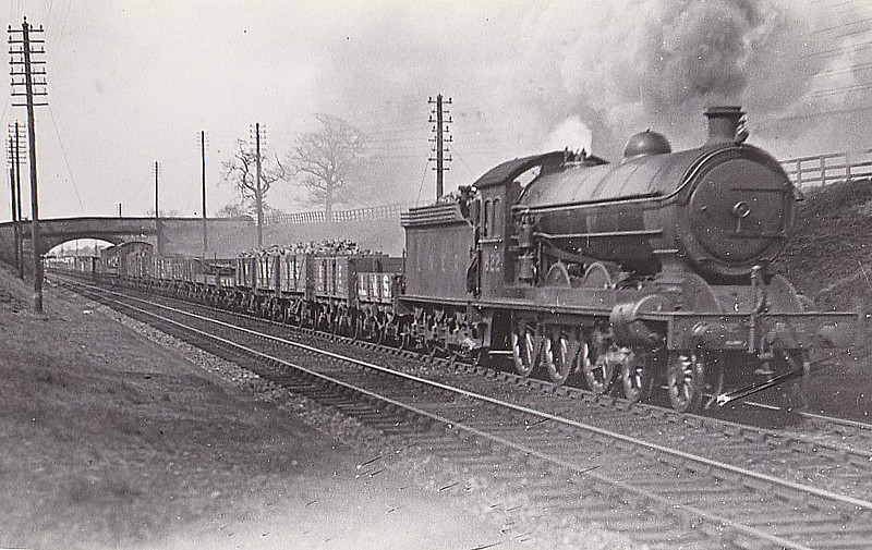 Class B15 - 822 - Raven NER Class S2 4-6-0 - built 11/12 by Darlington Works - 02/44 withdrawn from Hull Dairycoates MPD.
