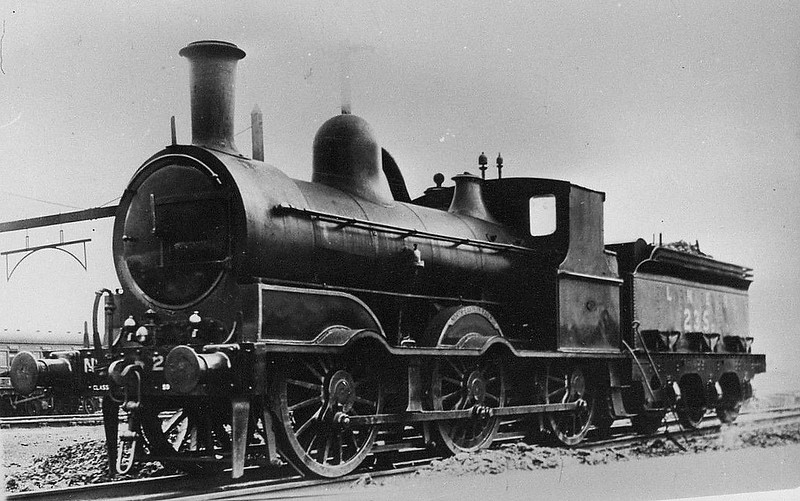 Class J22 - McDonnell NER Class 59 0-6-0 - built 1884 by Darlington Works - 1927 withdrawn.