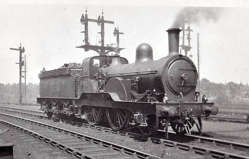Class E5 - 1474 - Tennant NER Class 1463 2-4-0 - built 1885 by Gateshead Works - 02/29 withdrawn from York North MPD.