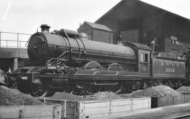 Class C7 - 2206 - Raven NER Class Z 4-4-2 - built 11/16 by Darlington Works - 1928 fitted with ACFI feedwater heater, as seen here - 1941 removed - 01/46 to LNER No.2991 - 11/47 withdrawn from Heaton MPD.