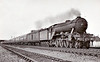 Class A3 - 2743 FELSTEAD -  Gresley GNR/L:NER 4-6-2 - built 08/28 by Doncaster Works - 09/46 to LNER No.89, 09/48 to BR No.60089 - 10/63 withdrawn from 64A St Margarets - seen here near Hatfield in 1937.