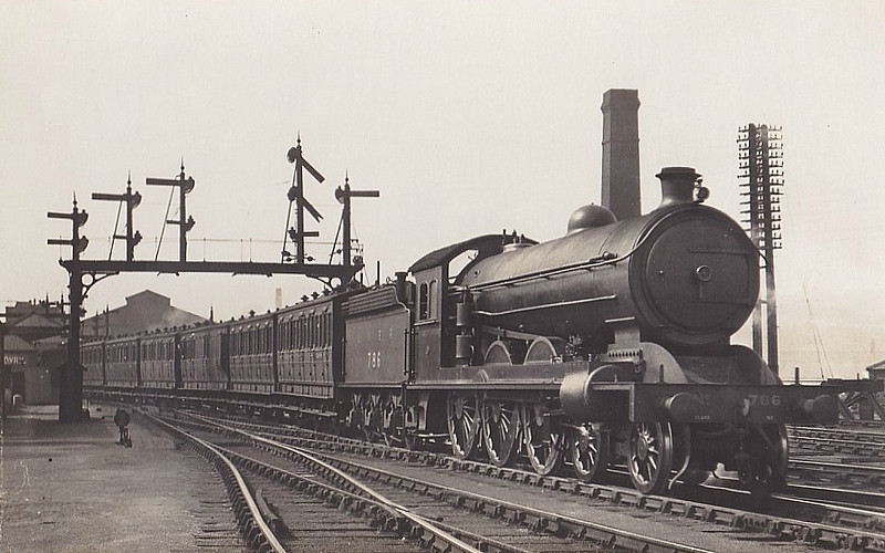 Class B15 - 786 - Raven NER Class S2 4-6-0 - built 12/11 by Darlington Works - 09/37 withdrawn from Hull Dairycoates MPD.