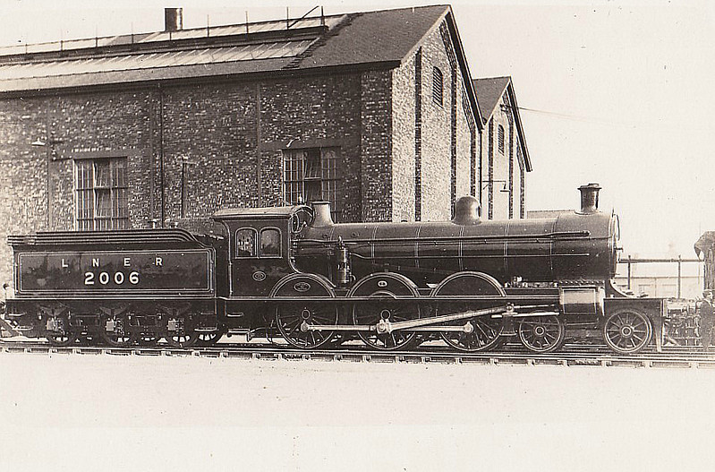 Class B13 - 2006 - Worsdell NER Class S 4-6-0 - built 12/1899 by Gateshead Works - 06/31 withdrawn from Leeds Neville Hill MPD.