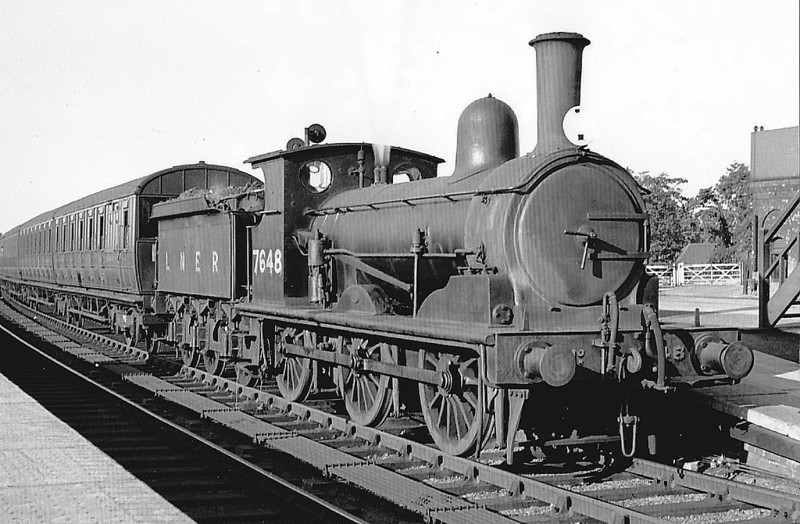 Class J15 - 7648 - Holden GER Class Y14 0-6-0 - built 09/1899 by Stratford Works as GER No.648 - 1924 to LNER No.7648, 10/46 to LNER No.5448, 09/48 to BR No.65448 - 03/60 withdrawn from 30A Stratford - seen here at Yarmouth in 1926.