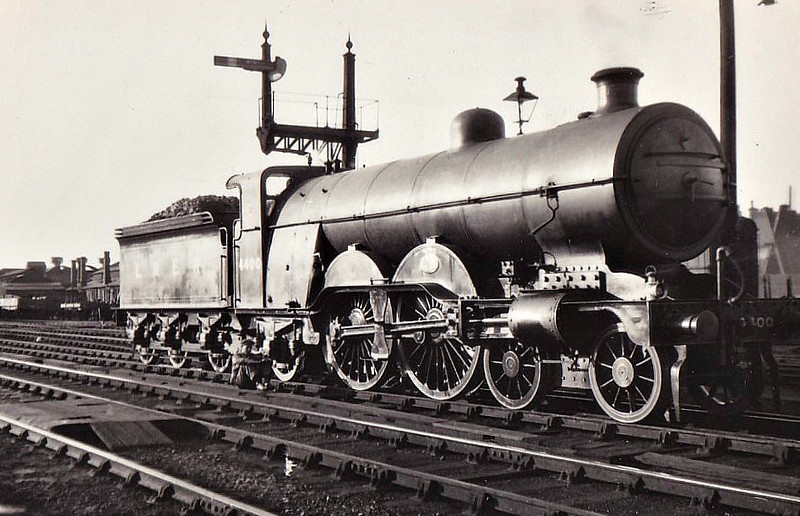Class C1 - 4400 - Ivatt GNR 4-4-2 - built 06/05 by Doncaster Works as GNR No.1400 - 08/24 to LNER No.4400, 09/46 to LNER No.2830 - 012/47 withdrawn from Lincoln - seen here at Peterborough, 07/31.