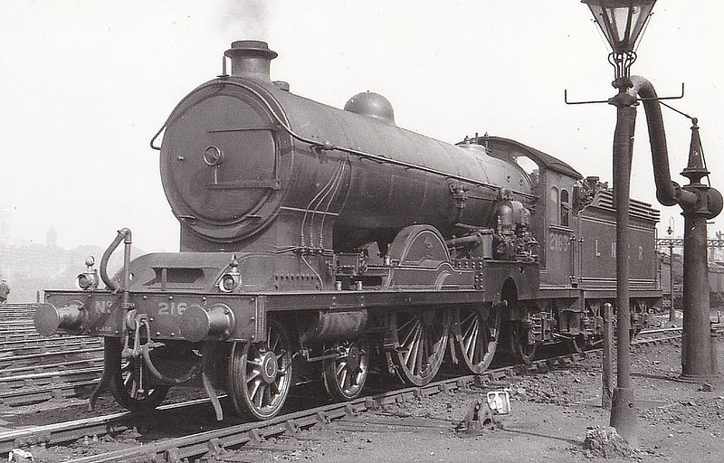 Class C7 - 2163 -  Raven NER Class Z 4-4-2 - built 05/14 by Darlington Works - LNER No.2969 not applied - 01/46 withdrawn from Tweedmouth MPD - seen here at York in 1930 - note Dabeg Feedwater Heater, carried from 1926 to 1937.