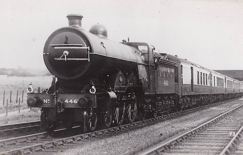 Class C1 - 4461 - Ivatt GNR 4-4-2 - built 11/10 by Doncaster Works as GNR No.1461 - 05/24 to LNER No.4461 - LNER No.2891 not applied - 08/45 withdrawn from Kings Cross MPD.