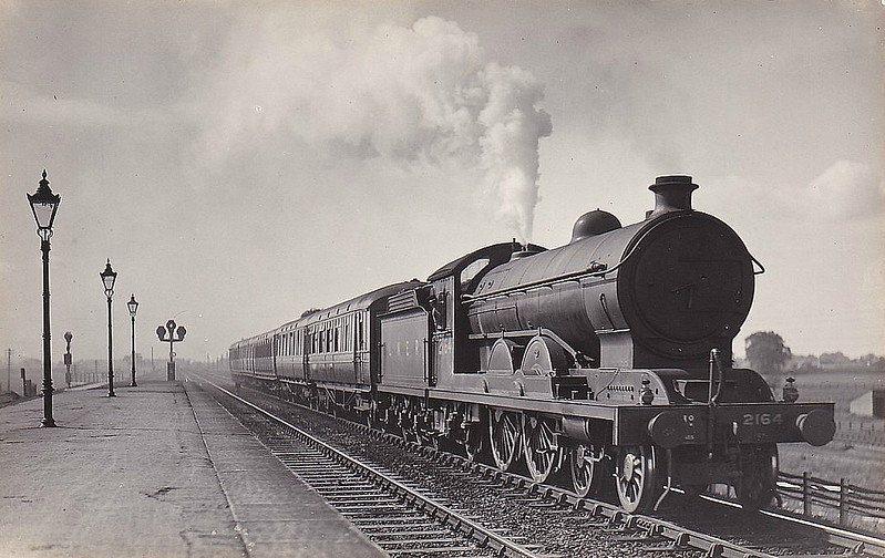 Class C7 - 2164 -  Raven NER Class Z 4-4-2 - built 05/14 by Darlington Works - 09/46 to LNER No.2970 - BR No.62970 not applied - 12/48 withdrawn from Hull Dairycoates MPD.