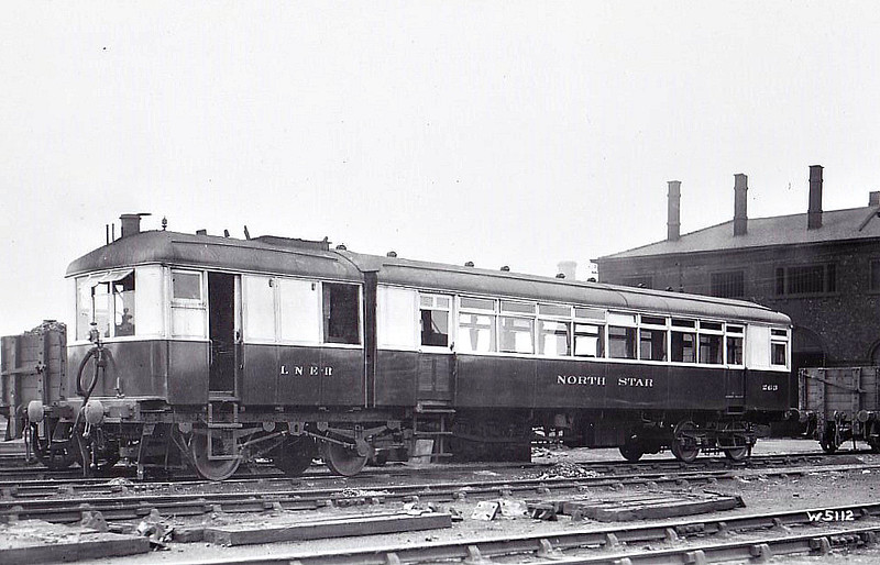 Diagram 83 - 263 NORTH STAR - Sentinel Steam Railcar - built 05/28 by Sentinel Waggon Works - 03/46 withdrawn.