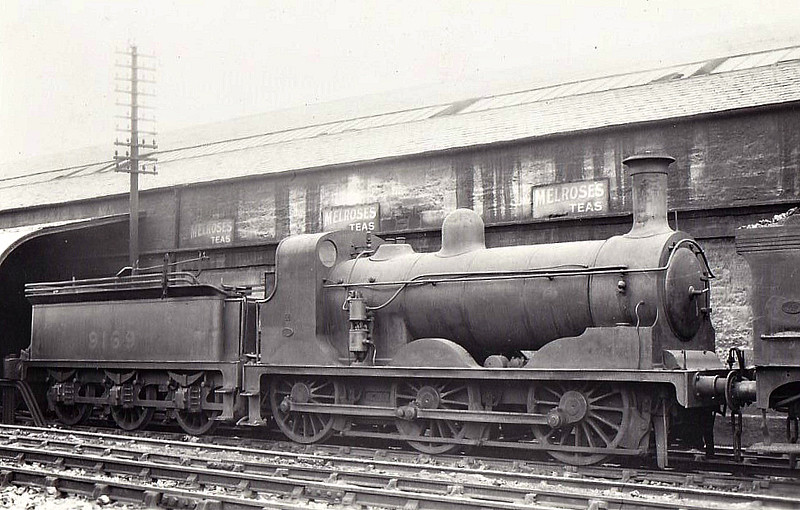 Class J33 - 9169 - Holmes NBR Cass D 0-6-0 - built 06/1887 by Coelairs Works as NBR No.169 - 1923 to LNER No.9169 - 12/38 withdrawn from St Margarets MPD.
