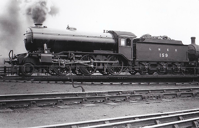 Class K3 -  159 - Gresley GNR 2-6-0 - built 03/25 by Darlington Works - 05/46 to LNER No.1848, 03/48 to BR No.61848 - 09/62 withdrawn from 40A Lincoln.