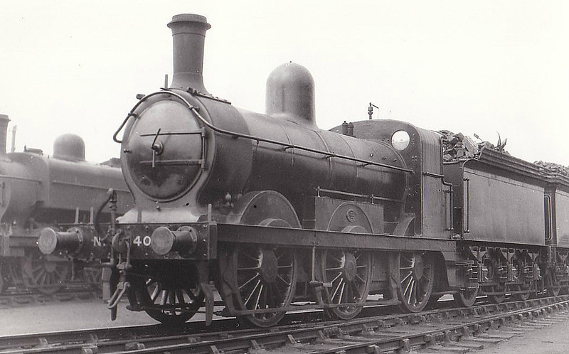 Class J 4 - 4083 - Ivatt GNR Class J5 0-6-0 - built 1896 by Doncaster Works as GNR No.1083 - 1923 to LNER No.4083 - 01/38 withdrawn from Grantham MPD - seen here at New England.