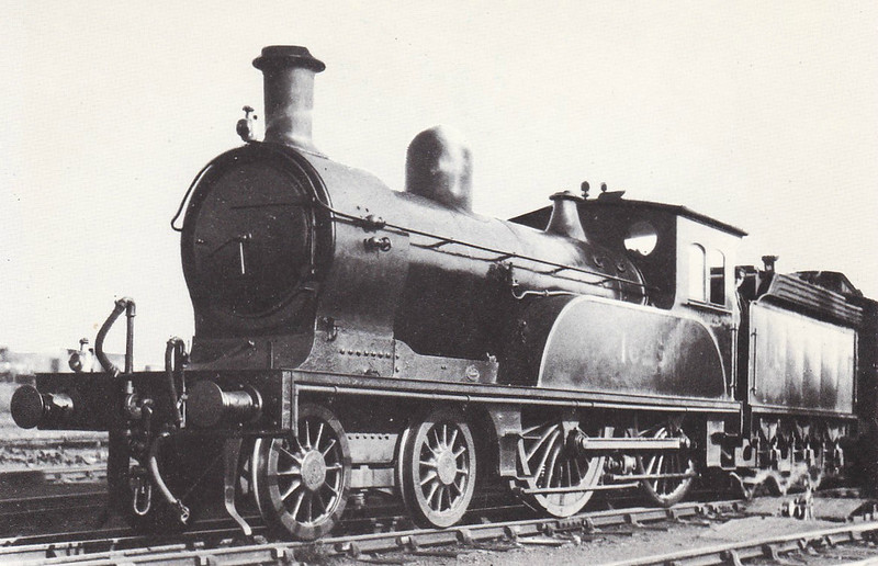 Class D17 - 1625 - Worsdell NER Class M1 4-4-0 - built 06/1893 by Gateshead Works - 10/32 withdrawn from Tweedmouth MPD.
