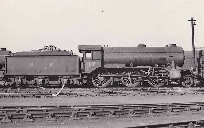 Class K3 -   17 - Gresley GNR/LNER 2-6-0 - built 08/24 by Darlington Works - 09/46 to LNER No.1810, 12/49 to BR No.61810 - 08/62 withdrawn from 34E New England - seen here at Neasden in 1945.