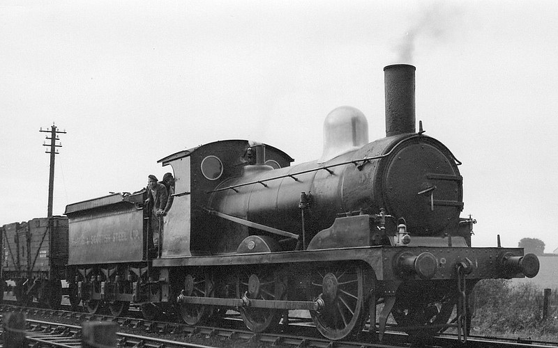 Class J15 - 7690 - Holden GER Class Y14 0-6-0 - built 11/1885 by Stratford Works as GER No.690 - 1924 to LNER No.7690 - 06/38 withdrawn from 31B March - sold to Baird & Co. as No.1 - seen here after sale.