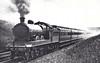 Class C8 - 730 -  Worsdell NER Class 4CC 4-4-2 - built 04/06 by Gateshead Works - 01/35 withdrawn from Heaton MPD - seen here near Darlington, 06/30.