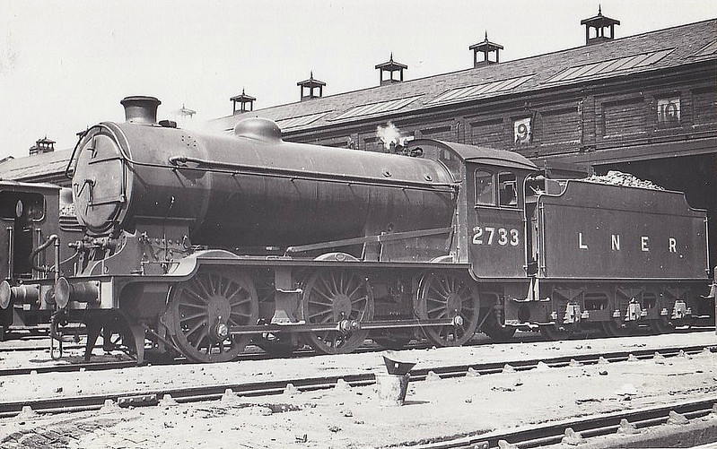 Class J39 - 2733 - Gresley LNER 0-6-0 - built 05/29 by Darlington Works - 12/46 to LNER No.4786, 02/50 to BR No.64786 - 12/62 withdrawn from 62B Dundee Tay Bridge.
