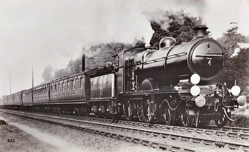 Class B4X - 71 - Billinton LBSCR Class B4 2-6-0 - built 09/01 by Sharp Stewart - 06/23 rebuilt as Class B4X, 1931 to SR No.2071 - BR No.32071 not applied - 02/51 withdrawn from 75E Three Bridges.