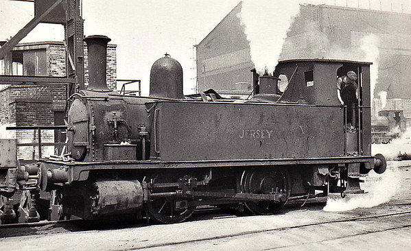 Class B4 - 81 JERSEY - 0-4-0T - ex-LSWR Class B4 0-4-0 Dock Tank - built 11/1893 by Nine Elms Works as LSWR No.81 - 09/49 sold by BR to Skinningrove Iron Works.