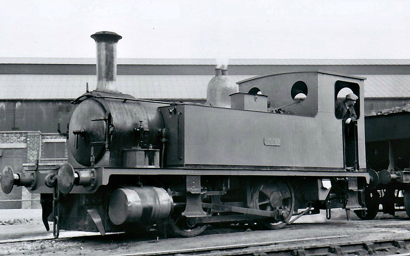 Class B4 - 100 SUSSEX - Adams LSWR Class B4 0-4-0T - built 12/1893 by Nine Elms Works as LSWR No.100 - BR No.30100 not applied - 02/49 sold to DR Zeiler, Swansea, and then to Stewart & Lloyds, Bilston - 1958 scrapped.