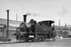 Class B4 - 81 JERSEY -  Adams LSWR Class B4 0-4-0T - built 11/1893 by Nine Elms Works - 1948 to BR No.30081 (not applied) - 02/49 withdrawn from 71I Southampton Docks, where seen in July 1938.