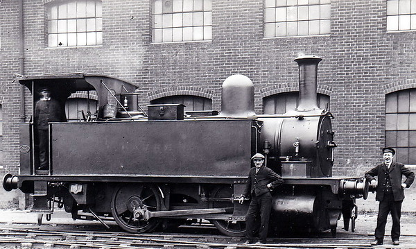 Class B4 - 86 HAVRE - Adams LSWR 0-4-0T - built 12/1891 by Nine Elms Works - 07/48 to BR No. 30086 - 02/59 withdrawn from 70C Guildford - seen here at Southampton Docks in June 1924.