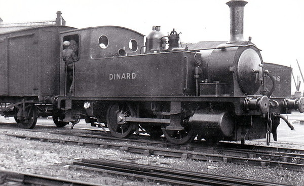 Class B4 - 147 DINARD - Adams LSWR 0-4-0T - built 04/08 by Nine Elms Works - 1948 to BR No. 30147 (not applied) - 02/49 withdrawn from 71I Southampton Docks.