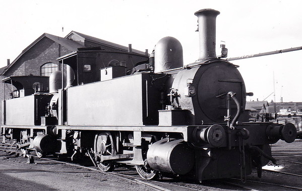 Class B4 - 96 NORMANDY - Adams LSWR 0-4-0T - built 11/1893 by Nine Elms Works - 12/50 to BR No. 30096 - 10/63 withdrawn from 71A Eastleigh.