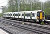 Class 387 106 draws into Huntingdon on 2P10 1034 Kings Cross - Peterborough, 24/04/18.