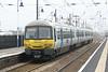 Class 365 528 departs Downham Market on 1T04 0744 Kings Cross - Kings Lynn, 03/11/15.