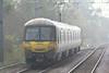 Class 365 525 heads south from Downham Market on 1T27 1054 Kings Lynn - Kings Cross, 03/11/15.