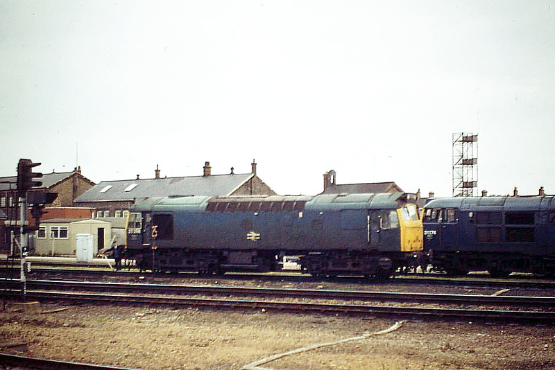 25298 goes on Depot at Peterborough, 10/84. The loco was withdrawn the following March.