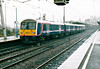 Class 360 102 heads to the carriage sidings at Ipswich to form the 1200 to Liverpool Street, 01/12/03.